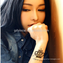Hot sexy tattoo paper single magic tattoo sticker for girl