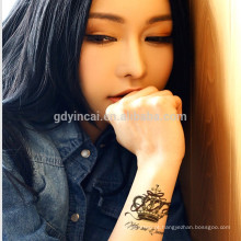 Papel de tatuagem sexy quente único rótulo de tatuagem mágica para menina