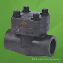 Válvula de retención de acero compacta (GAH64H)