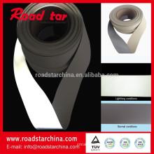 Costure na reflexivo couro artificial de espuma de PVC