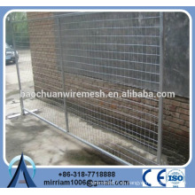 Panel de cerca de cercas de seguridad temporal, fabricante de cercas temporales de cercas portátiles, panel de cercas móviles galvanizadas temporales