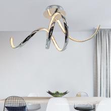 New design latest modern led pop ceiling light crystal led ceiling light
