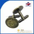 Wholesale custom high quality metal cufflinks, made in China
