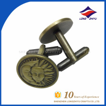 Wholesale custom high quality metal cufflinks, made in China