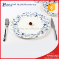 cheap bulk dinner plates fine bone china material can be customized according to your request