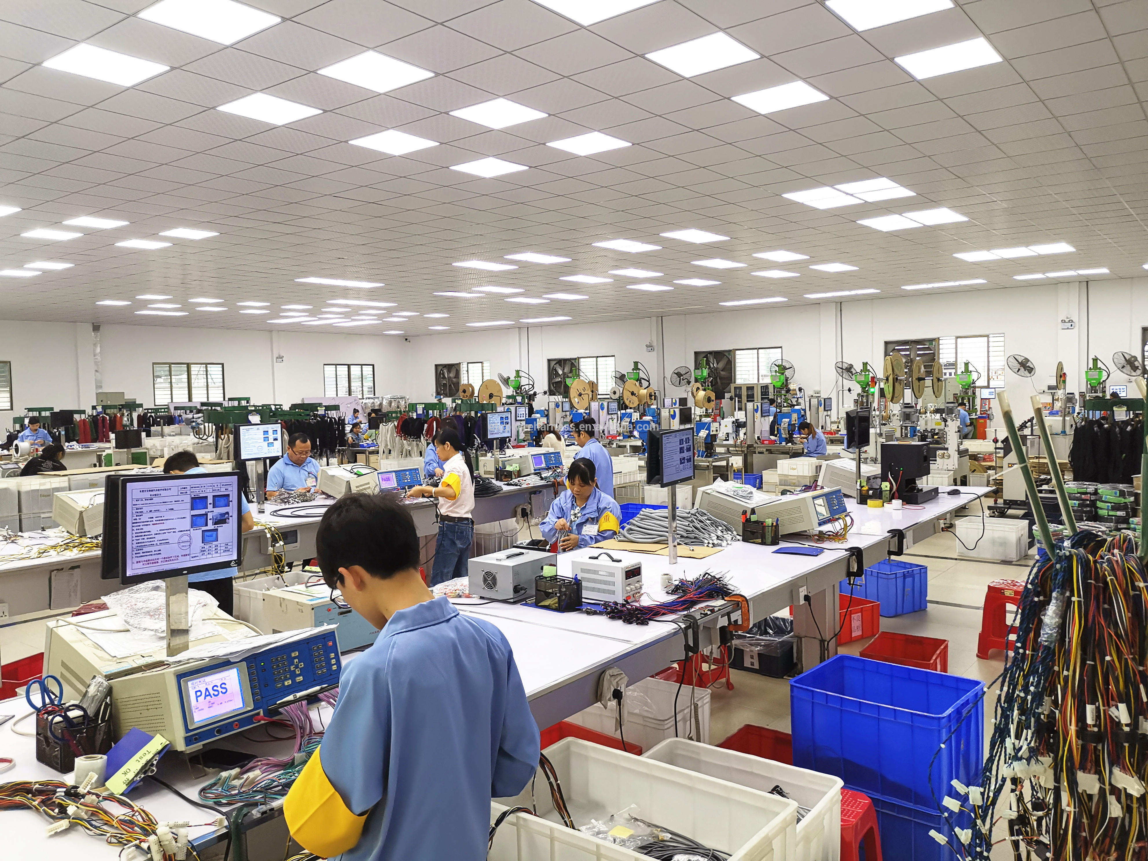 wire harness production