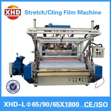 Film élastique et film adhésif Application et vis à trois vis Design machines d'emballage
