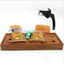 Chinese Green Tea Blocks Box Packing 42 Pieces/125g Slimming Tea Health Care Compressed Organic Green Tea