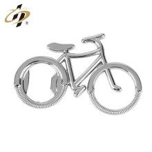 Abridor de botellas de encargo de la bicicleta del acero inoxidable