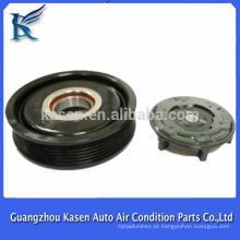 DENSO Auto AC Compressor embraiagem polia 6pk 124mm