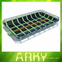 Bonne qualité Ensemble de trampoline à l'élastique en plein air