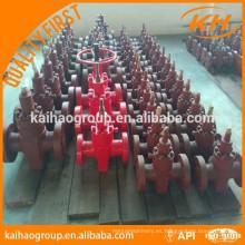 Aceite Sistema de control de pozos api 6a válvulas de compuerta válvulas de oleoducto