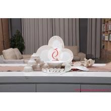 Série de vaisselle traditionnelle chinoise en céramique Série de vaisselle de luxe