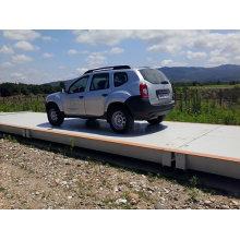 120t Escala electrónica del carro / puente de pesaje