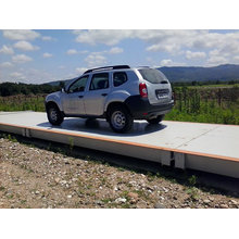 120t Escala eletrônica do caminhão / Weighbridge