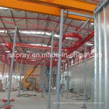 Equipamento de revestimento de pó estático automático de metal