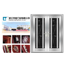 Double Door Leaf Stainless Steel Door