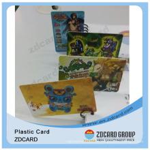Plastikgeschenk-VIP-Karten / leere Geschenk-Karte / programmierbare Geschenk-Karten