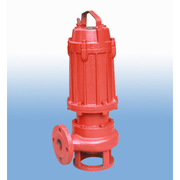 WQ electric centrifugal submersible marine sewage pump