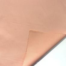 Tecido de cetim de algodão com acabamento de amônia líquida