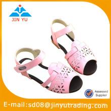 Fahsion menina flat sandals