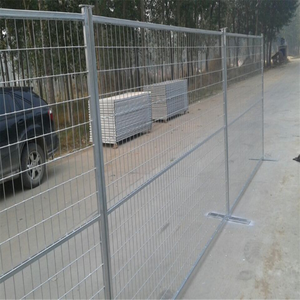 Perimeter Patrol Welded Wire Temporary Construction Fence China ...