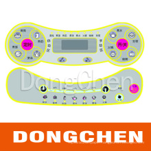 High Quality Embossing Button Membrane Switch Panel