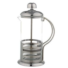 Cafetière de presse française en acier inoxydable de 350 ml / 600 ml