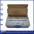 Rollo del papel de aluminio del hogar de 37.5 Sqft para el acondicionamiento de los alimentos