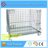 Industrial Stackable Steel Folding Crate