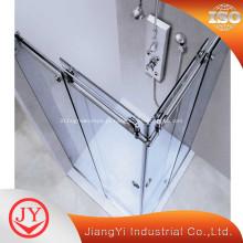 Porta de chuveiro de vidro deslizante moderna projetada nova