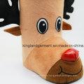 Полиэфир Высокое качество Новогоднее украшение оленей Стиль Браун Конфеты Boot