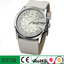 Quartz Movement Double Calendar Lady Fashion Watch