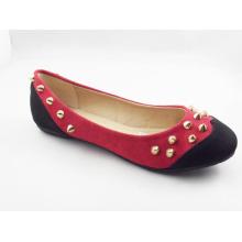 Neue Stil Frauen Kleid flache Schuhe (HCY03-131)