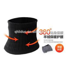 Unisex Colorido Cálido Cintura Soporte Cinturón Protector Estómago Cachemira protector de la cintura