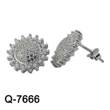 New Design 925 Silver Fashion Earrings Jewelry (Q-7666. JPG)