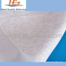 White Jacquard Stock Fabric