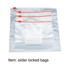 Saco de Alimentos / Saco de Zipper Saco de Plástico Descartável