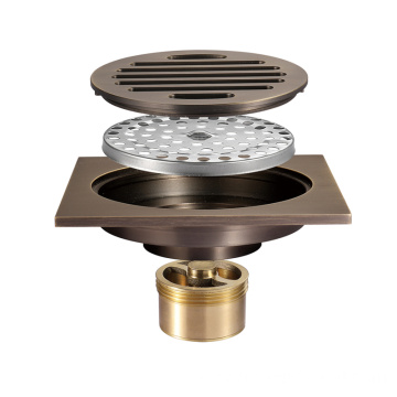 HIDEEP  square Shower Strainer deodorant floor drain