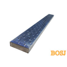 Planche d'échafaudage en aluminium de 10 pi x 19 po