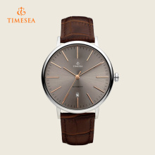 Mens relógios de luxo de aço inoxidável Watch 72291