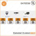 UL (478737) Dlc IP65 300W Светодиодная колодка для обуви