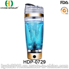600ml Fashionable Electric Vortex Shaker Bottle, BPA Free Plastic Protein Shaker Bottle (HDP-0729)