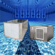 Тепловой насос для бассейна с нержавеющей сталью