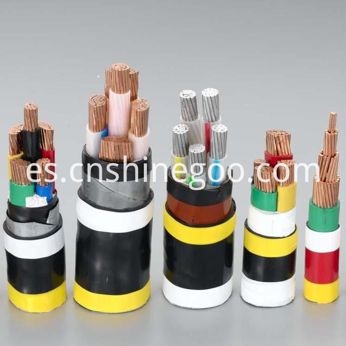 Fluoroplastic steel armoured cable