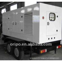 550kw Jichai china engine trailer diesel genset