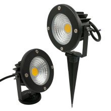 Impermeable IP65 Pond Path Landscape 12V Jardín exterior LED Césped 15W 12W 10W COB LED Spike light