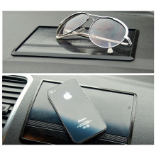 Sticky anti slip pad made of soft silicone PU hold things on 90 degree