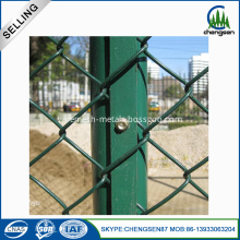 Chain Link Sports Fencing with Post