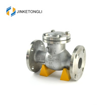 JKTLPC081 low pressure stainless steel non return gas check valve